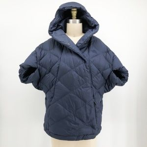 NORTH FACE Navy Cocoon Goose Down Puffer Jacket